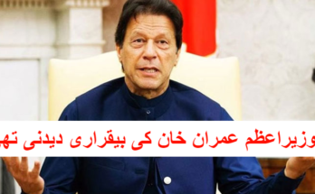 Prime Minister Imran Khan's remarks were to be granted