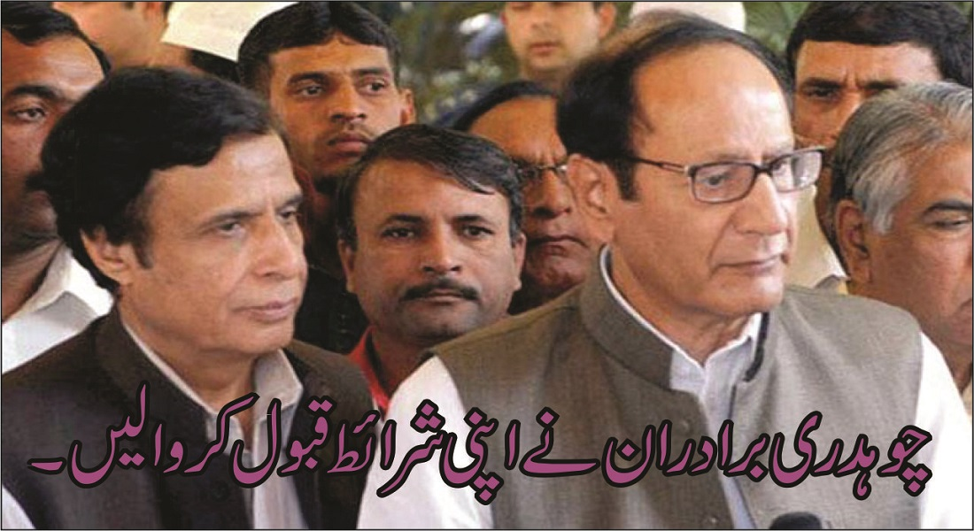 What conditions did the Chaudhry Brothers accept from the government?